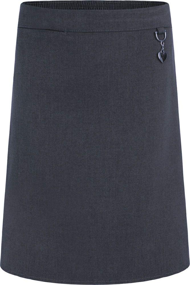Skirt, 1/2 Elastic Waist