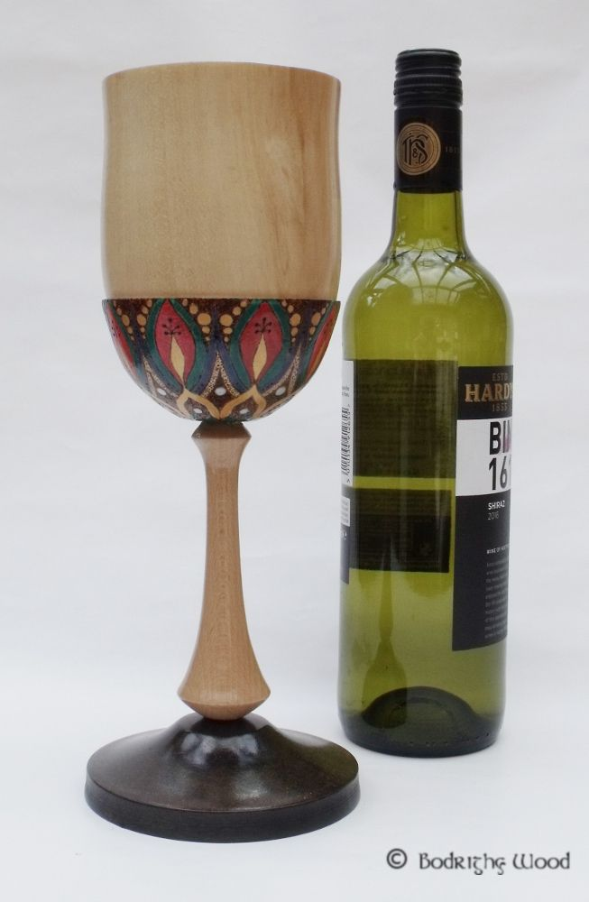 Decorated Goblet