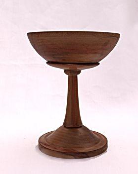 parana pine 3 inch dia 5 inch tall pedestal bowl (2)