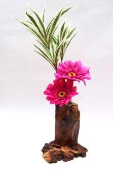 rustic ikebana vase. 8