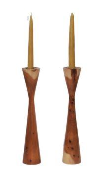 yew candlesticks 3