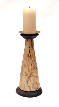 spalted candle pillar 3