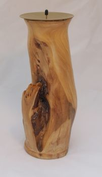 Unknown wood candle pillar 4