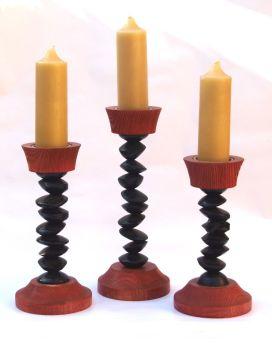 Gothic tipsy candlesticks 3