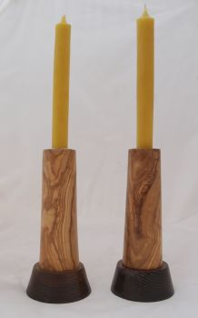 olive walnut candlesticks (1)