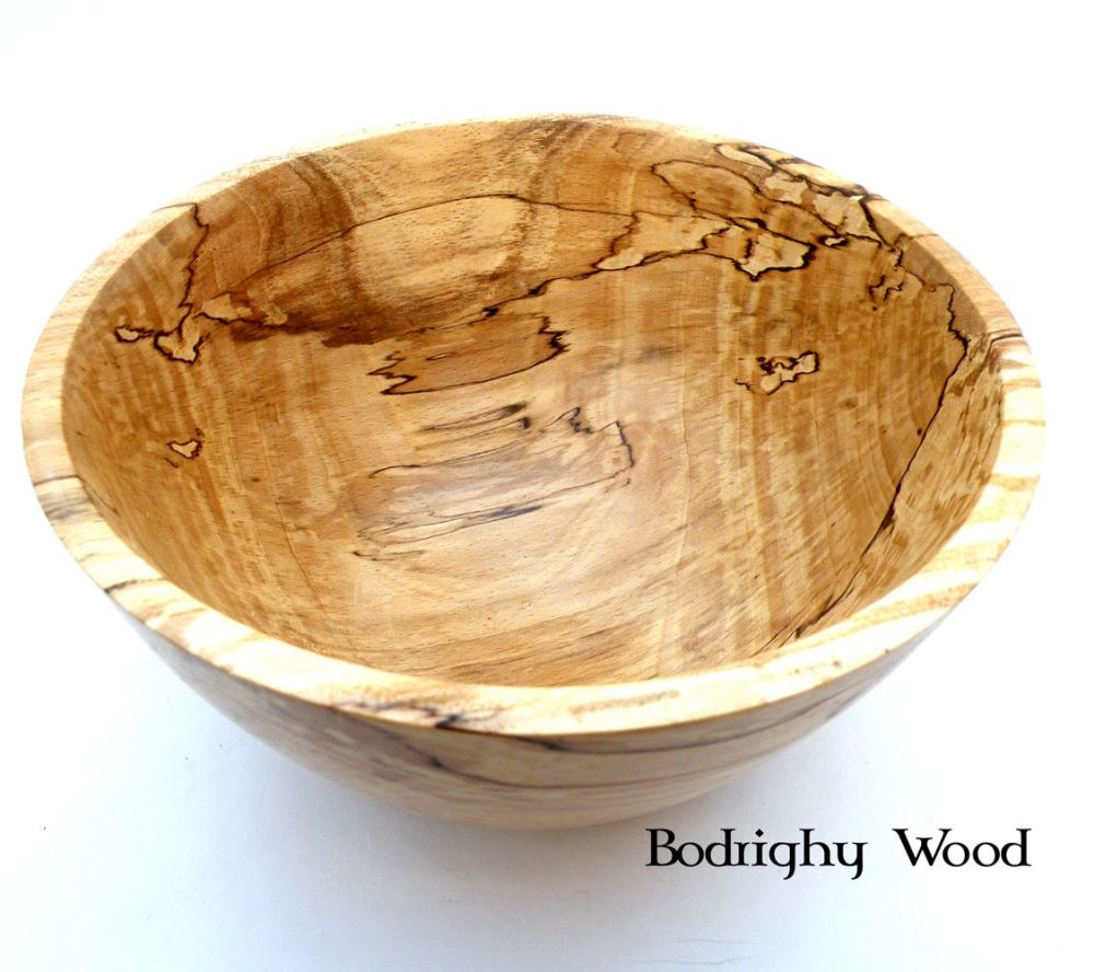 Spalted Sycamore Bowl