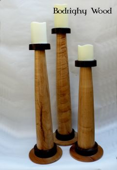 Tryptich Candle Pillars