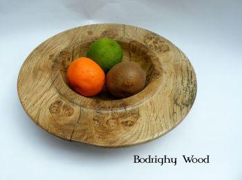 oak burr bowl brass inlay (4)