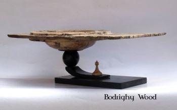 spalted hornbeam floating bowl (4)