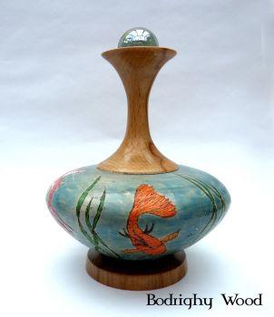 Koi Pond Vase (2)