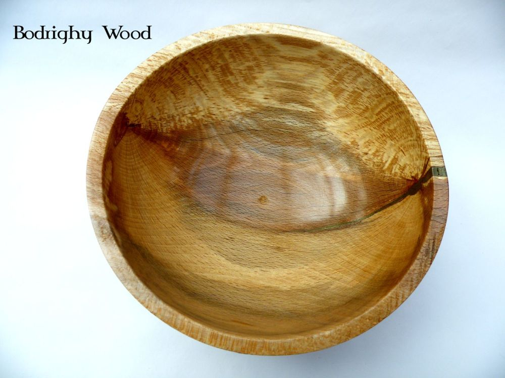 Warped Beech Bowl