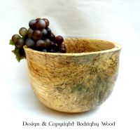 spalted deep bowl