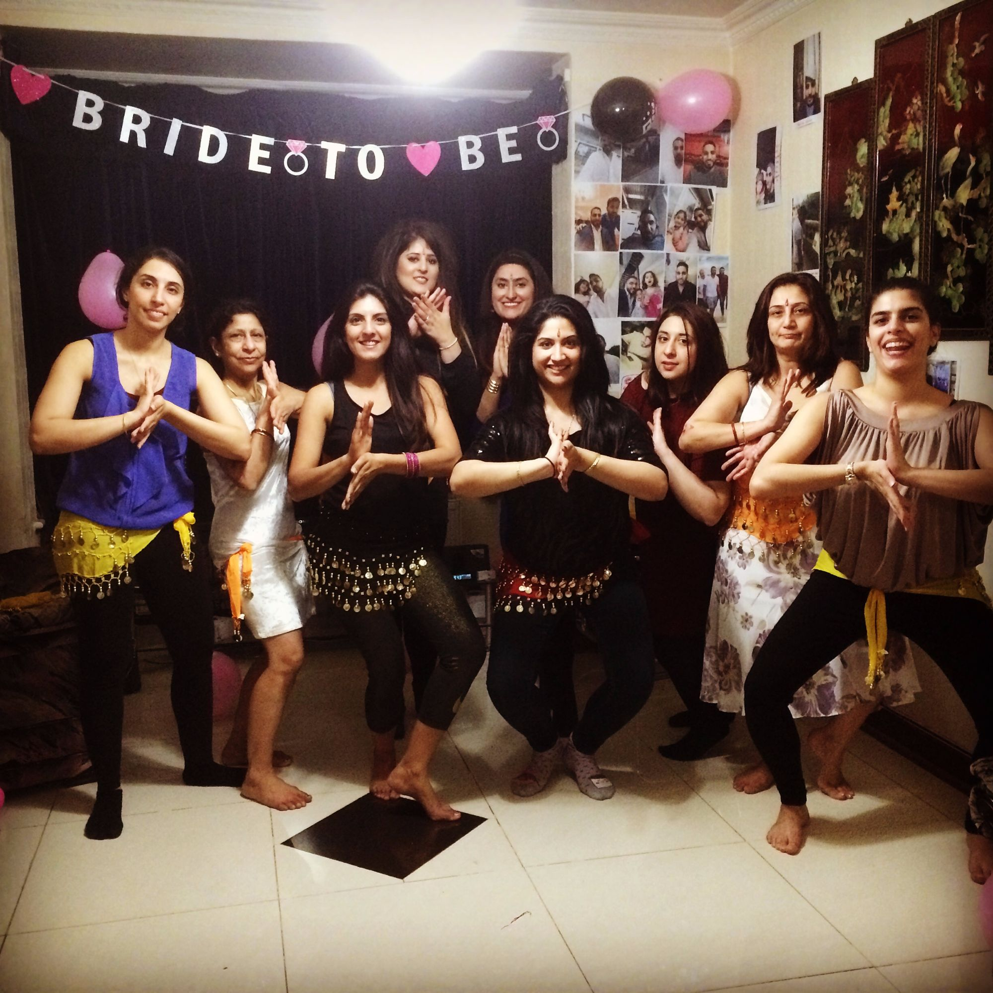 Bollywood Dancing Hen Party
