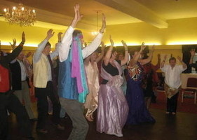 Bollywood dancing for corporate activities