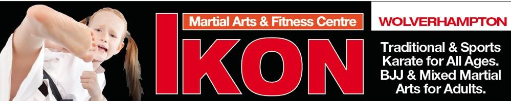 Ikon Martial Arts & Fitness Centre, site logo.
