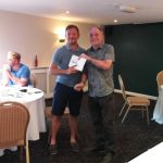 Andy Bacon receives the team prize