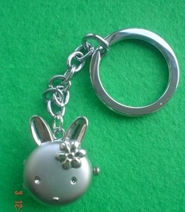 Rabbit Watch Keyring