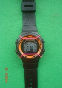 Attractive LCD  Watch with Stopwatch, Light