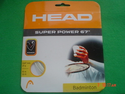 Head Super Power 67  Badminton Strings -  SPECIAL OFFER