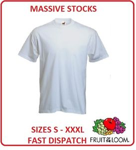 Fruit of the Loom White T Shirt