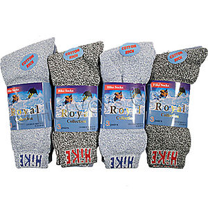 HIKE WINTER WARM THICK COTTON SOCKS SIZE 6 -11   (3-Pack)