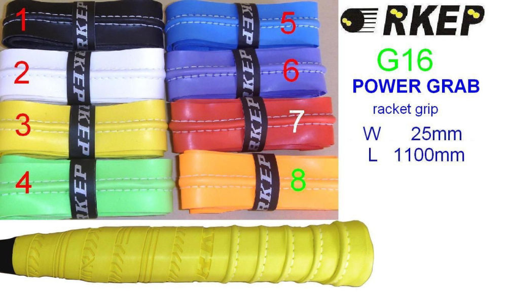 Power Grab Grip tape (G16) - great for Squash or Badminton racquets