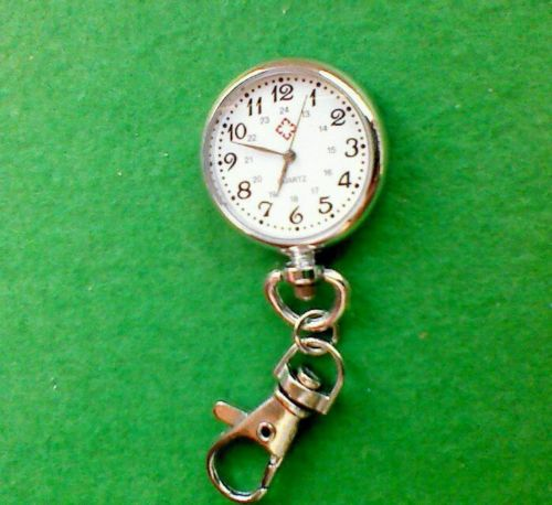 Clock Pendant  WATCH Keyring Gift Present NEW