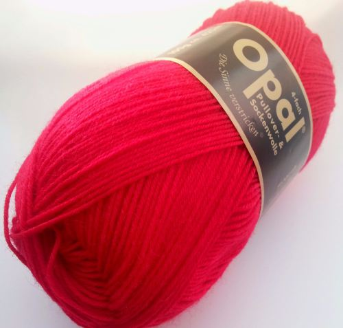 Opal Uni 4ply - 5180 Red