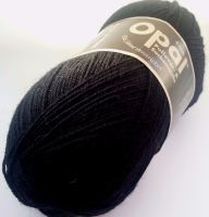 Opal Uni 4ply - 2619 Black - REDUCED