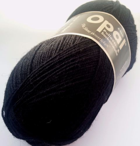 Opal Uni 4ply - 2619 Black