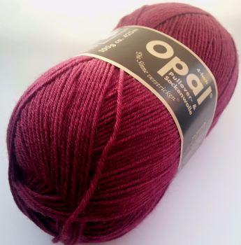 Opal Uni 4ply - 5196 Burgundy - REDUCED