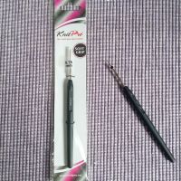 Knit Pro Steel Crochet Hook - 0.75mm