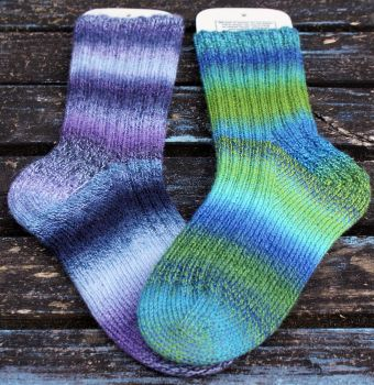 Creme Brulee Top Down Sock Pattern