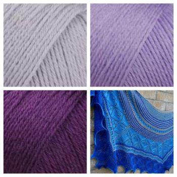 Carlyon Bay Kit - Lilac & Purple