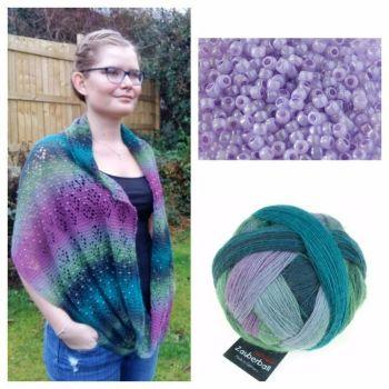 Nordlys Kit - 2308 & Lavender Beads