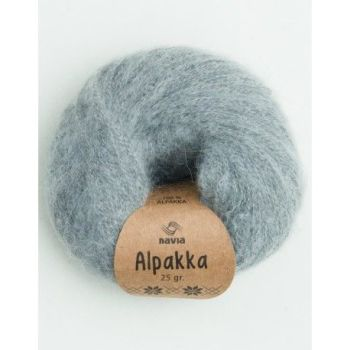 Navia Alpakka - Light Grey 802 - REDUCED