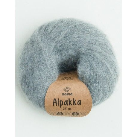 Navia Alpakka - Light Grey 802