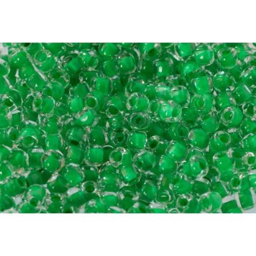 Debbie Abrahams Seed Beads - size 8/0 - 221 Bright Green