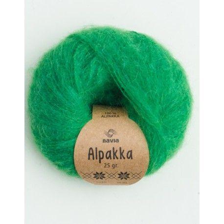 Navia Alpakka - Bright Green 845