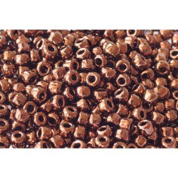 Debbie Abrahams Seed Beads - size 6/0 - 601 Bronze