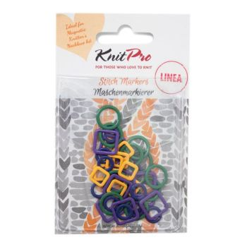 Linea Stitch Markers