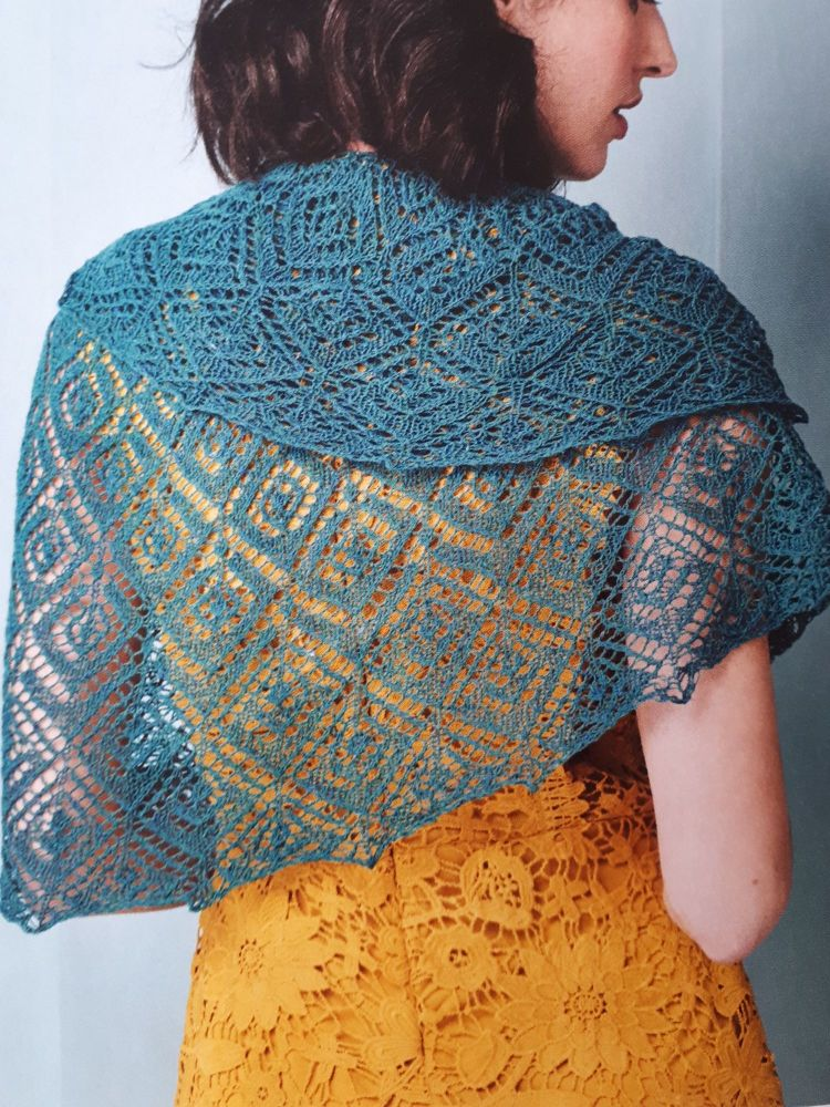 Tor Grass Crescent Shawl