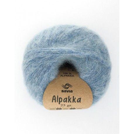 Navia Alpakka - Pale Blue 842 - REDUCED