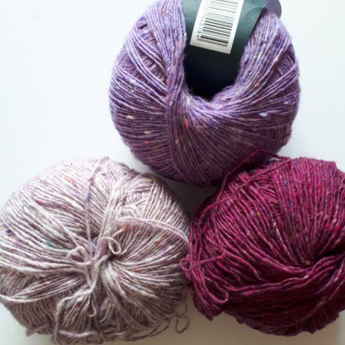 Debbie Bliss Fine Donegal - Lavender, Lilac, pink