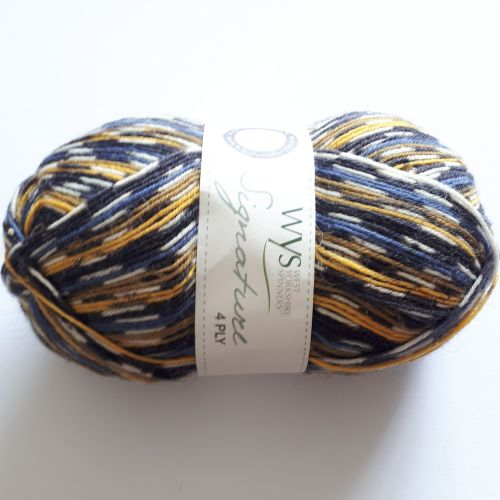 West Yorkshire Spinners Signature 4ply - Bluetit