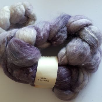 Picperfic Coast spinning fibre - Grape Gradient