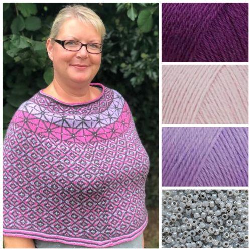 PRE-ORDER Bodinnick Kit - Purple, Lilac & Pink - Size 3