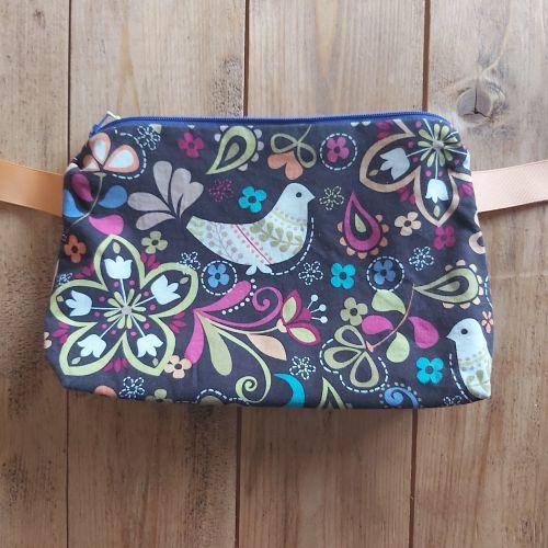 Project Bag - bird print