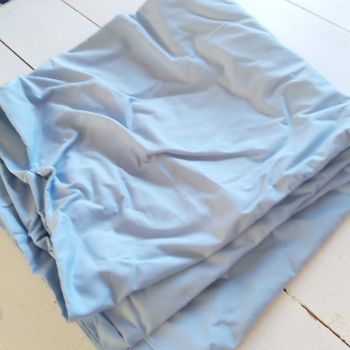 Solid  Light Blue Fabric - 130cm x 100cm