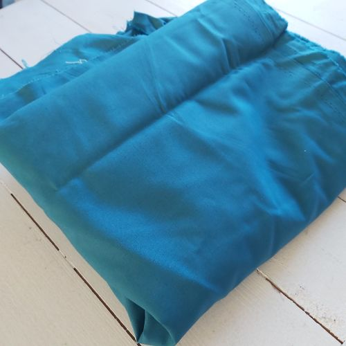 Solid Teal Fabric - 1m x 5m